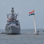 Dilip completes his circumnavigation for India's first solo circumnavigator Dilip Donde
