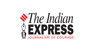 Indian Express logo for India's first solo circumnavigator Dilip Donde