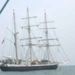 HMS Nelson in Kochi for India's first solo circumnavigator Dilip Donde